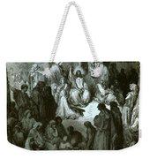 Sermon On The Mount Weekender Tote Bag