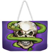 Serpent Evil Skull Weekender Tote Bag