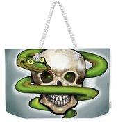 Serpent N Skull Weekender Tote Bag