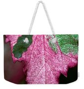 Serrated Weekender Tote Bag