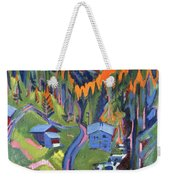 Sertig Path In Summer Weekender Tote Bag