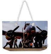 Servicing An A-20 Bomber Langley Field Va Weekender Tote Bag