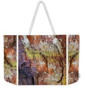 Set In Stone Triptych Weekender Tote Bag