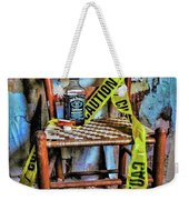 Set With Caution Weekender Tote Bag