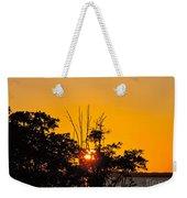 Setting Mangrove Sun Weekender Tote Bag