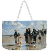 Setting Out To Fish Weekender Tote Bag