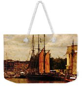 Setting Sail From Bristol Weekender Tote Bag