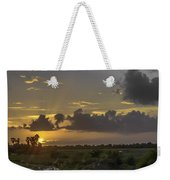 Setting Sun Before The Storm Weekender Tote Bag