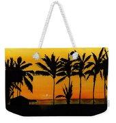 Setting Sun In The Tropics Weekender Tote Bag