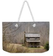 Settlers Cabin In Cades Cove Weekender Tote Bag