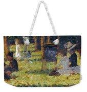 Seurat: Grande Jatte, 1884 Weekender Tote Bag