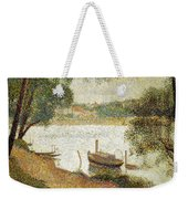 Seurat: Gray Weather Weekender Tote Bag