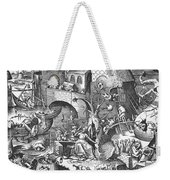 Seven Deadly Sins, 1558 Weekender Tote Bag by Granger