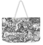 Seven Deadly Sins: Anger Weekender Tote Bag