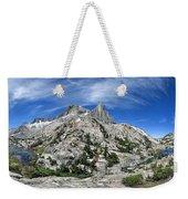 Seven Gables Over Seven Gables Lakes - Sierra Weekender Tote Bag