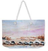 Seven Little Boats Weekender Tote Bag