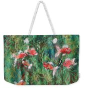 Seven Little Fishies Weekender Tote Bag