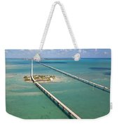 Seven Mile Bridge Crossing Pigeon Key Weekender Tote Bag