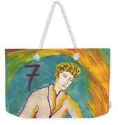 Seven Of Wands Illustrated Weekender Tote Bag