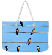 Seven Swallows Weekender Tote Bag
