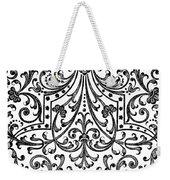 Seventeenth Century Parterre Pattern Design Weekender Tote Bag