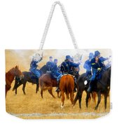 Seventh Cavalry In Action Weekender Tote Bag