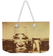 Severed And Preserved Head And Hand In Jars Weekender Tote Bag