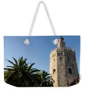 Seville - A View Of Torre Del Oro 2 Weekender Tote Bag