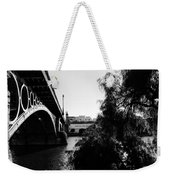 Seville - Triana Bridge Weekender Tote Bag