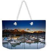 Seward Alaska Boat Marina Weekender Tote Bag