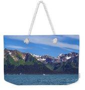 Seward Mountains Weekender Tote Bag
