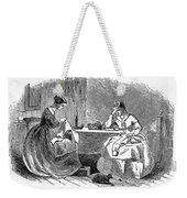 Sewing, 19th Century Weekender Tote Bag