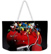 Sewing Equipment - Pin Cushion Weekender Tote Bag