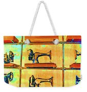 Sewing Machines Come To Life Weekender Tote Bag