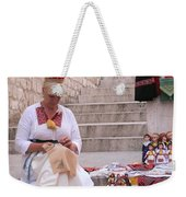 Sewing Souvenirs In Old Dubrovnik Weekender Tote Bag