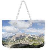 Sextener Dolomites Weekender Tote Bag
