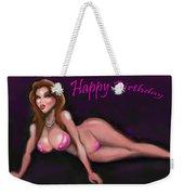 Sexy Happy Birthday Weekender Tote Bag