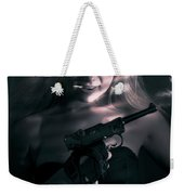 Sexy Woman Assassin Weekender Tote Bag