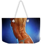 Sexy Young Woman Back Weekender Tote Bag