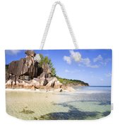 Seychelles Rocks Weekender Tote Bag