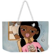 She Has Plans Weekender Tote Bag