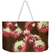 Shabby Chic Floral Design Weekender Tote Bag