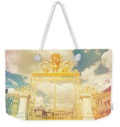 Shabby Chic Gold Gate Versailles Weekender Tote Bag