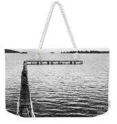 Shabby Nautical Style Weekender Tote Bag