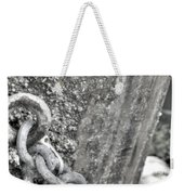 Shackled Not Chained Weekender Tote Bag