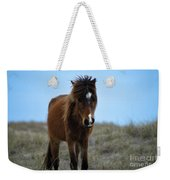 Shackleford Banks Pony Weekender Tote Bag