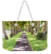 Shaded Walkway To Princeville Market Weekender Tote Bag