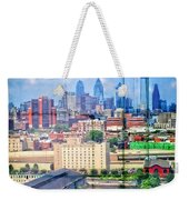 Shades Of Philadelphia Weekender Tote Bag