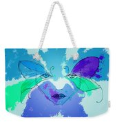 Shades Of The Butterfly Weekender Tote Bag