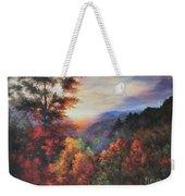 Shades Of Twilight Weekender Tote Bag